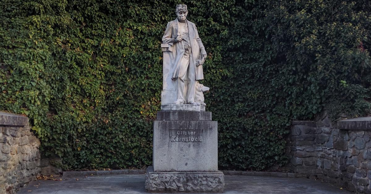 Denkmal für Ottokar Kernstock in Vorau